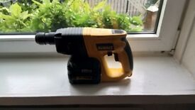 Used Dewalt DW004 cordless 24v SDS drill, GWO, see photos and details
