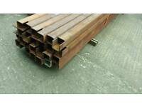 H/ Duty steel box section + Beams