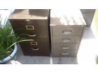 4 Filing Cabinets, free, collect only