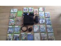 Xbox 360 and Wii bundle in very good condition.