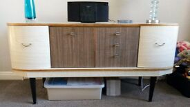 Sideboard and table and chairs