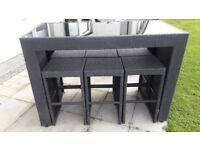 Garden Furniture, Garden Master, black