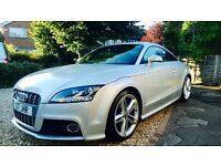 Stunning Audi TTS S-Tronic only 36400 miles, full dealer history perfect condition throughout