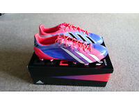 Adidas Adizero F50 TRX FG Synthetic Messi Turbo-Blast/Purple/White 11 (New)