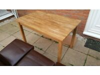 Ikea wooden dining table - grab a bargain!
