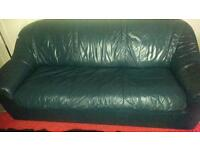 free Collection leather sofa bed