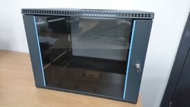 500mm deep 8U Wall Mounted Data Cabinet
