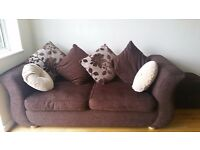Great condition sofa and footstool