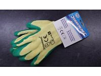 Green Gardening Gloves Large new