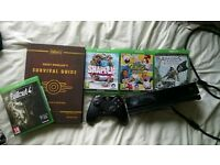 Vgc condition Xbox one kinect. Brand new Controller. Four games