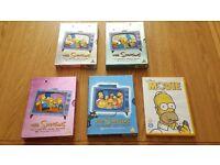 Simpsons DVD Season 1 2 3 4 & Simpson's Movie Full DVD collection