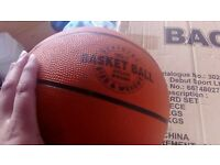 basketball board set and extra ball