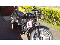 Motorcycle - WK 125 Cruiser FOR SALE -15 Plate