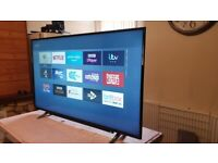 Brand new boxed TOSHIBA 49 inch smart 4k uhd hdr led tv with wifi, apps, FREEVIEW & FREESAT HD