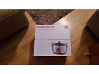 Morphy Richards Slow Cooker Stainless Steel 6.5L
