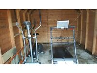 Treadmill (mains powered), cross trainer