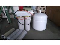 R O water system,