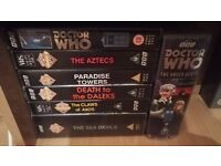 Doctor who VHS collection.