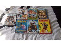 7 x kids dvds all originals