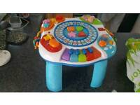 Children's activity table toy
