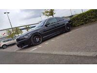 Stunning showcar bmw 328ci cosmo black fulls specs m sport m3 330 325 320 e46 not audi golf
