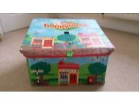 happyland storage/playmate with toys