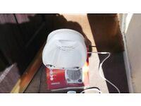 2kw fan heater and cool blow fan settings