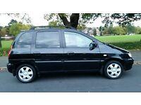 Hyundai Matrix 1.6 GSI 2005, Rr DVD player, twin screens,AC,parking aid 1 yr MOT tow bar BARGAIN