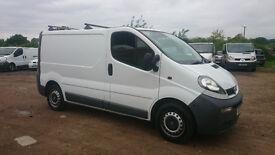 Vauxhall Vivaro 85600 miles one owner new cambelt new clutch LEZ compliant Credit/Debit cards taken