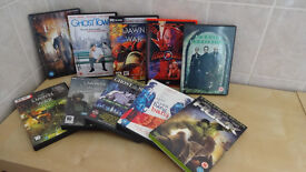 Selection of 10 DVD's / films