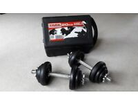 20KG BOXED YORK DUMBBELL WEIGHTS SET