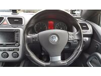 VOLKSWAGEN VW GOLF MK5 SCIROCCO FLAT BOTTOM STEERING WHEEL AND AIRBAG WITH MFD CONTROLS