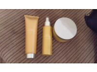 almond and honey skin care set