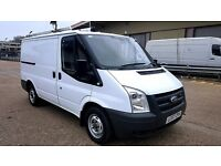 Finance - £108 Per Month -Ford Transit 300 - 1 Owner-Ex BT- FSH - 1 YR MOT - 85K Miles Free Warranty