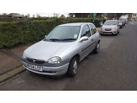 VAUXHALL CORSA 1.2 1 YEAR MOT STARTS AND DRIVES GREAT REALLY NICE CLEAN CAR INSIDE AND OUT £350