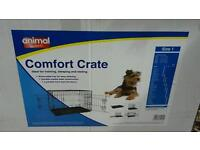 Small dog/ puppy comfort crate/ cage