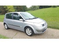 RENAULT SCENIC AUTOMATIC,PANORAMIC ROOF,1 YEAR MOT, VERY GOOD DRIVE,A/C