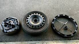 Space saver spare wheel Vauxhall Astra H 115 70 16