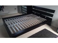 IKEA Hopen Double Bed Frame With Headboard