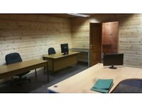 self contained office to rent