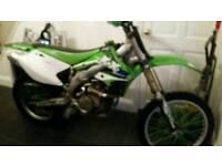 Kxf 450 crosser motorbike