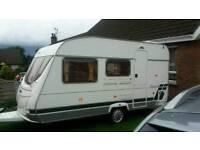 06, 4 birth caravan for sale in excellent condition