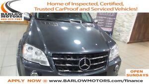 2010 Mercedes-Benz M-Class ML63 AMG 4MATIC **Bitcoin Accepted**