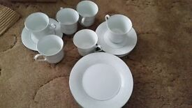 China Cups, Saucers & Side plates