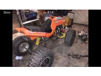 Quad spares or repairs project