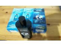 3 × davidoff cool water 200ml each eau de toilette new in boxes