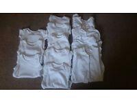 Unisex 0-3 months vests bundle