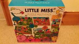 Little Miss multi pack 10 puzzles