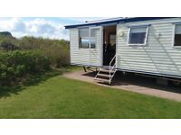3 bed caravan for hire on Haven's Craig Tara resort