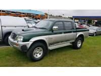 2002 mitsubishi l200 2.5 diesel 4x4 export welcome
